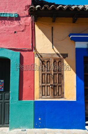 bund painted houses in san cristobal