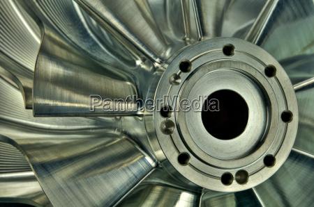 laufrad eines turboradialgeblaeses