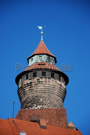 sinwellturm der kaiserburg nuernberg
