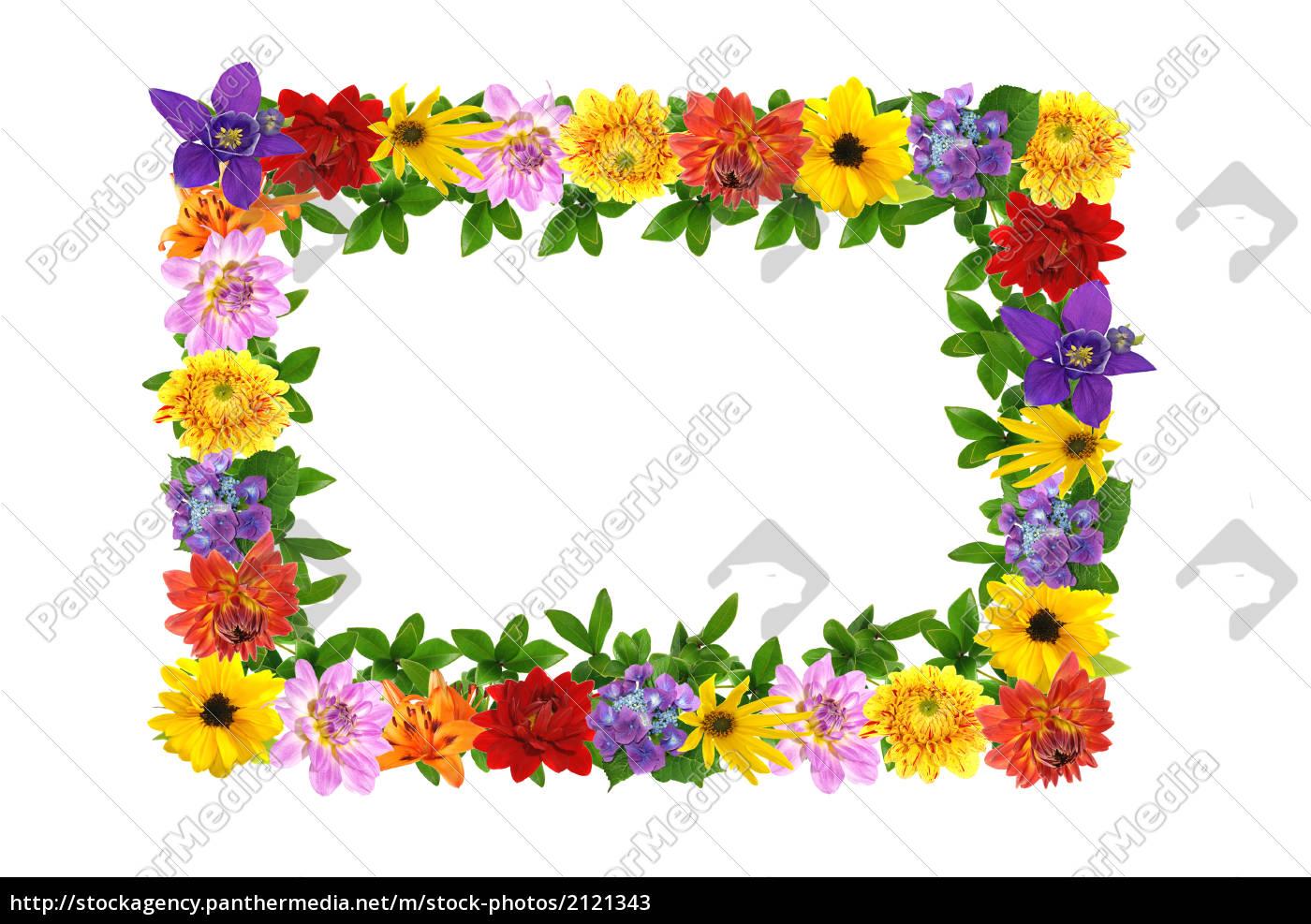 Berühmt Blumen Rahmen Zeitgenössisch - Bilderrahmen Ideen - szurop.info