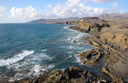 coast near la pared fuerteventura