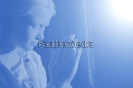 profil blau menschen leute personen mensch