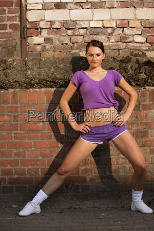 stretching outdoor
