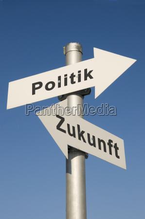 tarcza sygnal znak politycznie przyszlosc polityka