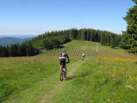 radtour im schwarzwald