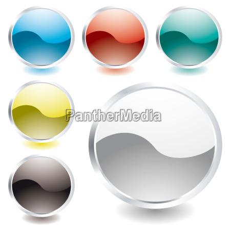 oval glanzsymbol
