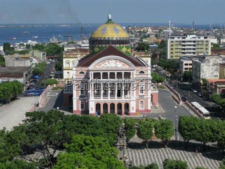 amazonas theater manaus brasilien