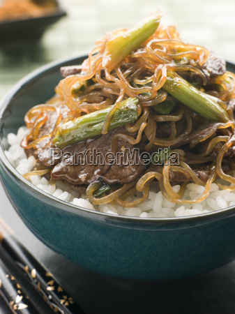 sweet soy beef fillet mit shirataki