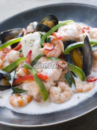 malaya fisch curry mit kokos
