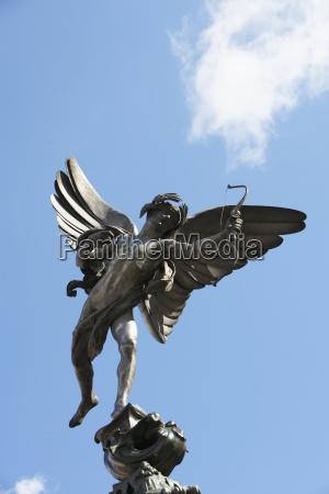 statue von eros piccadilly circus london