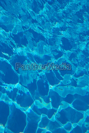 blue water background pool