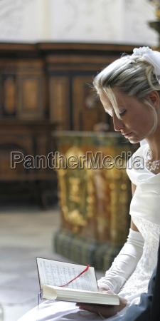 bride portraet