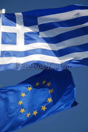 griechenland, europa, fahne, flagge, banner - 2361433