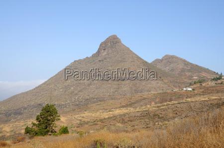 mountains on tenerife spain