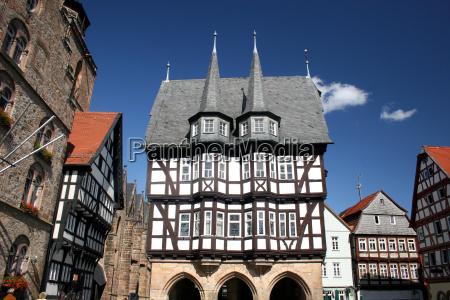 historisches rathaus in alsfeld hessen