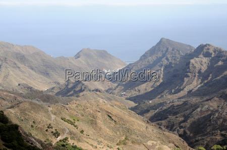 anaga mountains tenerife spain