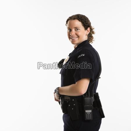 laecheln polizistin