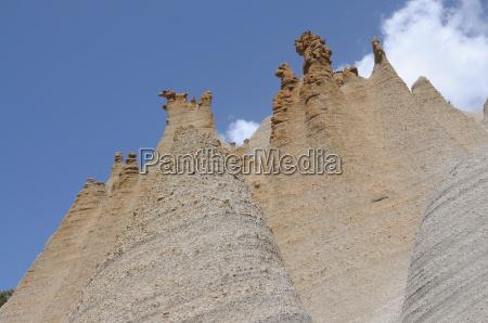 canary islands erosion cone teneriffa nature