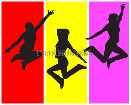 menschen leute personen mensch aktiv springen