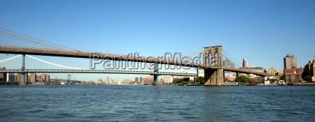 brooklyn bridge und manhattan bridge ny