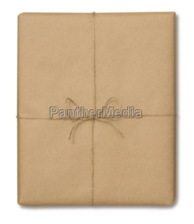 brown papier paket