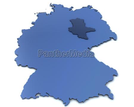 map of germany saxony anhalt
