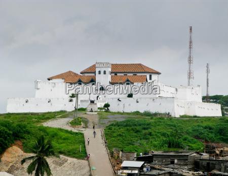 elmina castle in ghana in der