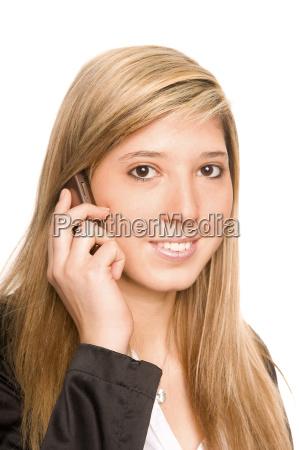 woman calling