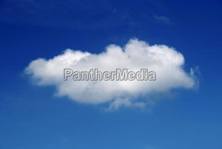 blau himmel wolke