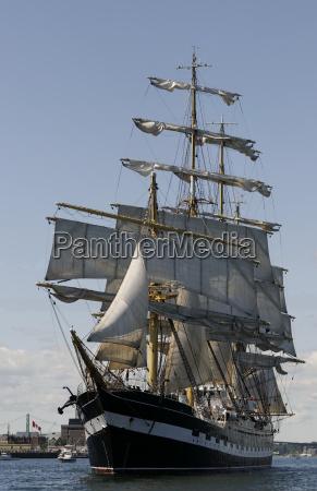 tall ship atlantic challenge 2009