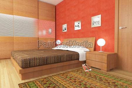 moderne holz schlafzimmer