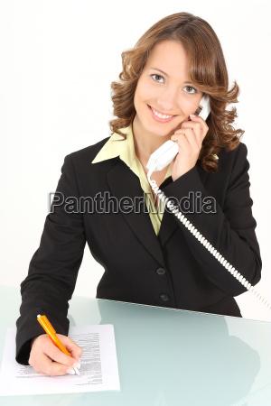 woman telephone phone secretary leader captain