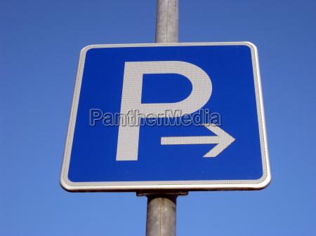 parken rechts