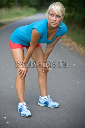 preparing for the next run