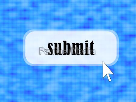 blau knopf button blinker cursor internet