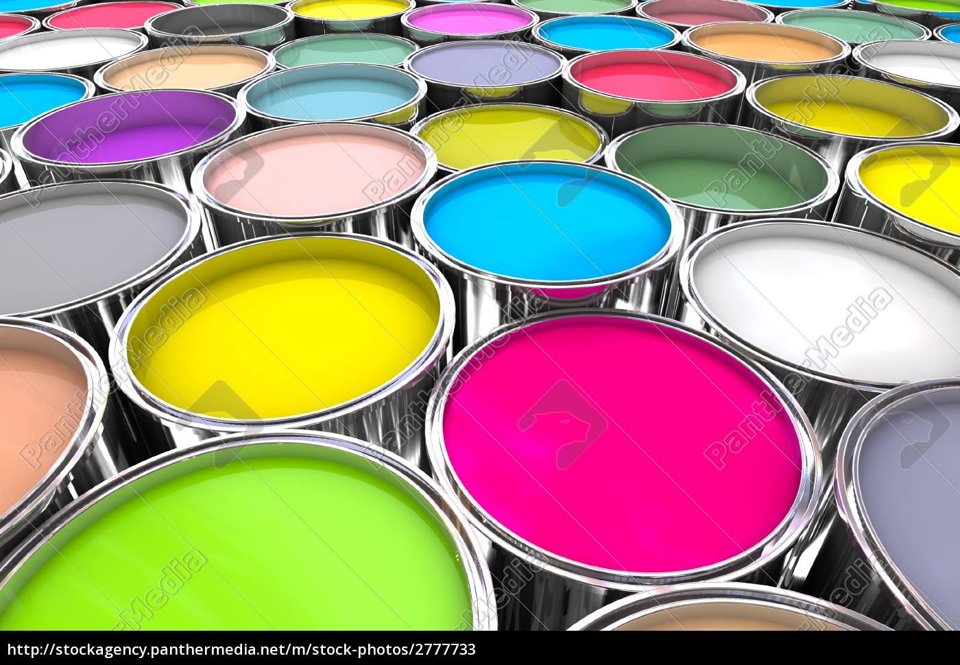 farben, malen, kann, hintergrund - 2777733