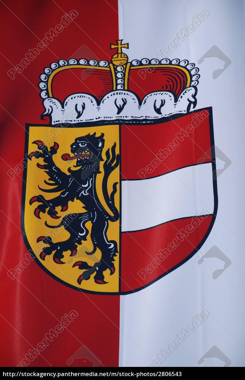 salzburg, salzburger, land, fahne, banner, - 2806543