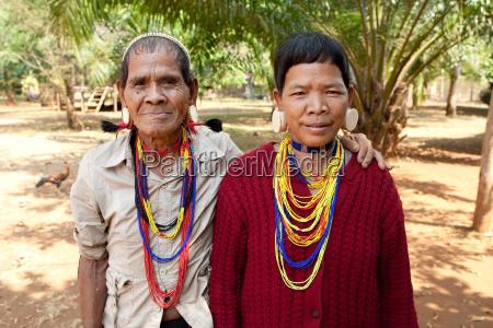 portrait ethnische gruppe lawae laos