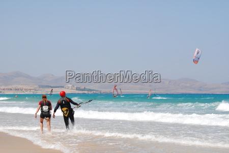 windsurfing auf fuerteventura