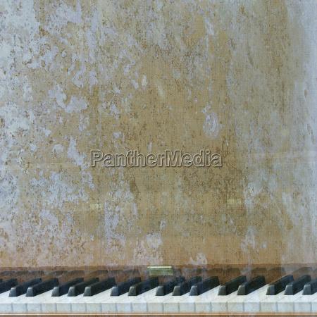 abstrakten musikalischen hintergrund klavier