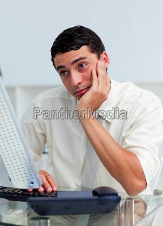 buero tastatur computertastatur pc computer maennlich