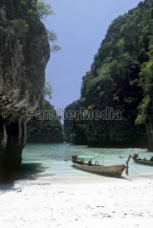 abgeschiedener strand thailand