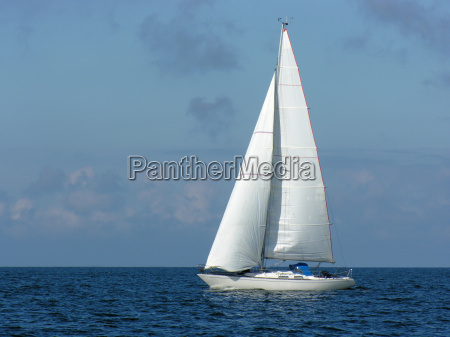 sailing trip into the blue