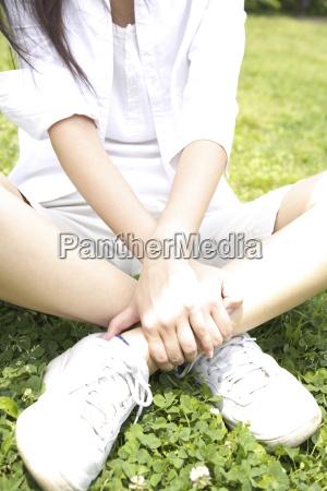 feet of japanese woman