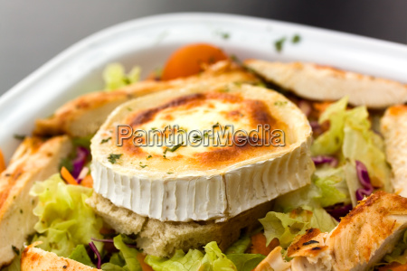 rocky mountain salat mit kaese