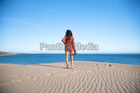 freizeit am strand von tarifa