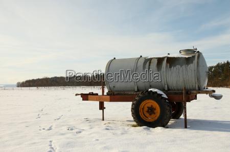 livestock watering in winter