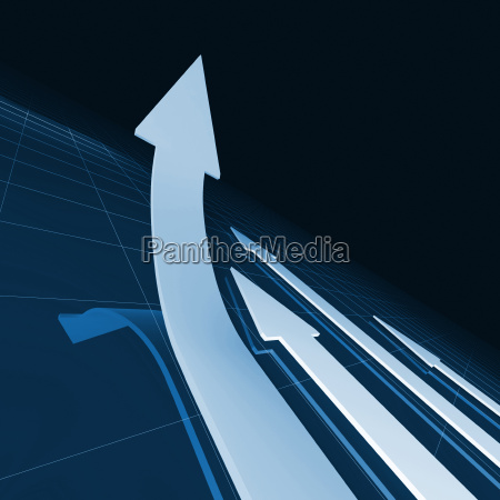 business arrows background