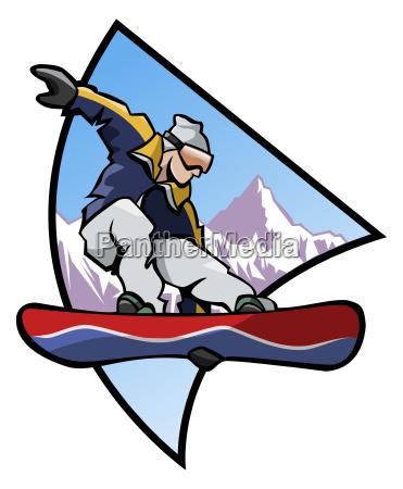 snowboard logo farben