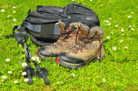 caminata palos mochila recuperacion zapatos para